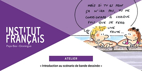 Atelier | « Introduction au scénario de bande dessinée » tickets