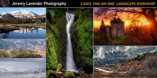 3 Days 'One-on-One' Scottish Landscape Photography Workshop