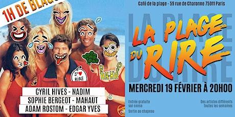 La Plage Du Rire #15 - Stand Up billets
