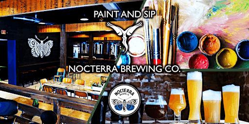 Paint and Sip Art Class - Nocterra Brewing Co.
