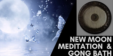 New Moon Gong Bath and Guided Meditation tickets