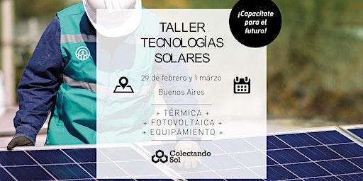 Taller de Tecnologías Solares/ Buenos Aires Febrero 2020