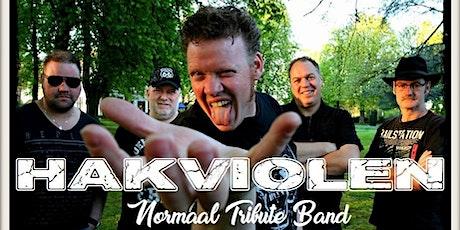 Hakviolen (Normaal Tribute) in muziekcafé de Cactus op 10-10-2020  tickets