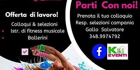 OFFERTA DI LAVORO ISTRUTTORE DI FITNESS MUSICALE E BALLERINI  Parti con NOI tickets