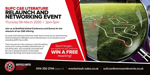 SUFC C&E Literature Relaunch and Networking Event