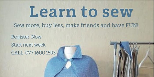 Sewing and knitting beginner +