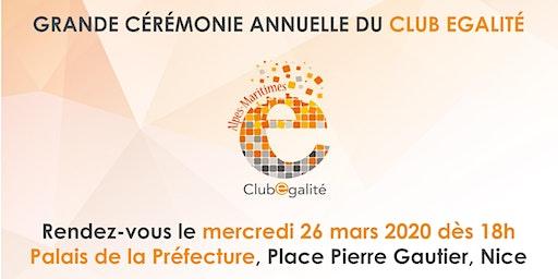Grande cérémonie annuelle du Club Egalité