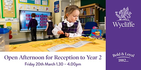 Open Afternoon for Reception to Year 2 tickets