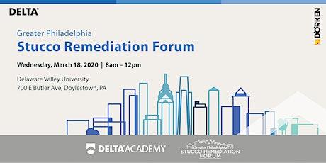 Greater Philadelphia Stucco Remediation Forum tickets