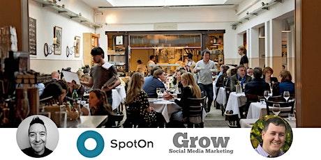 SpotOn Restaurant Demo & Restaurant Social Media Q&A tickets