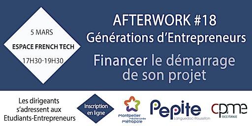 Financement - Afterwork #18 Générations d'Entrepreneurs