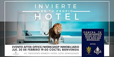 EVENTO GRATUITO/WORKSHOP INMOBILIARIO/20FEBRERO19HRS