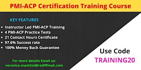 PMI-ACP Training Course in Columbia, SC tickets