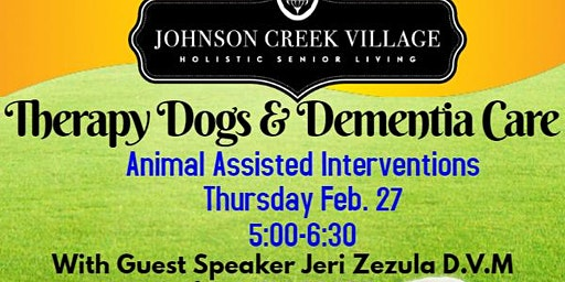 Therapy Dogs & Dementia Care