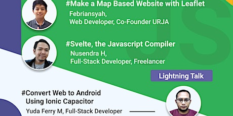 Meetup #7 - Map Based Web with Leaflet dan Svelte the JavaScript Compiler tickets