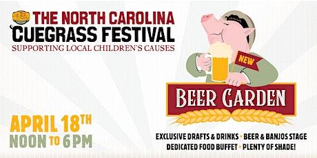 The North Carolina 12th Annual 'Cuegrass Festival Beer Garden tickets