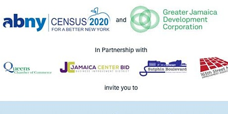 Downtown Jamaica 2020 Census and Business tickets