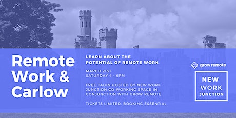 Grow Remote - Remote Work & Carlow tickets