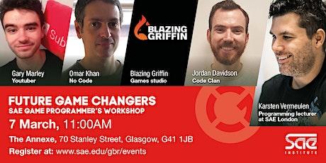 SAE Glasgow: Games Programmer's Workshop tickets