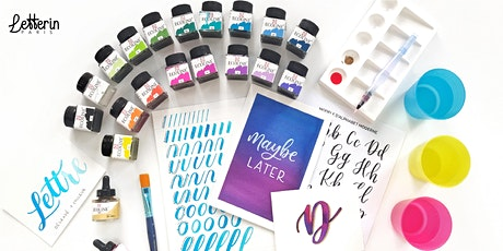 Atelier Brush Lettering à l'Aquarelle - PARIS 2`1 MARS 2020 tickets