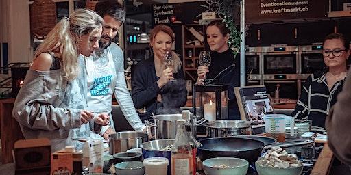 """Samsung Kochkurs """"Traditionell meets Nachhaltig - Schweizer Gerichte smart zubereitet"""""""