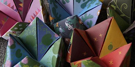 Atelier d'origami --- Origami workshop