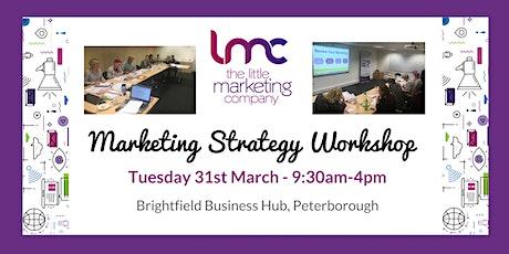 Marketing Strategy workshop tickets