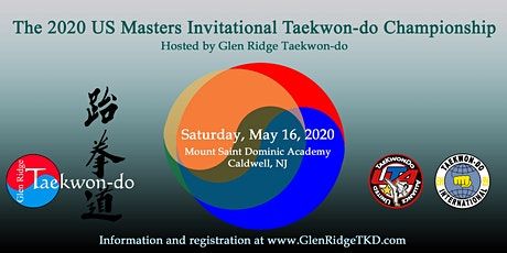 The 2020 US Masters Invitational Taekwon-do Championship tickets