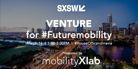Venture for #FutureMobility tickets