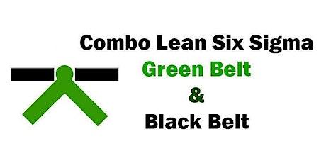 Combo Lean Six Sigma Green Belt and Black Belt Training in Reno tickets