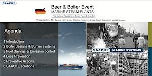 Beer & Boiler Event - MARINE STEAM PLANTS