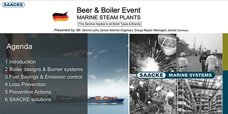 Beer & Boiler Event - MARINE STEAM PLANTS tickets