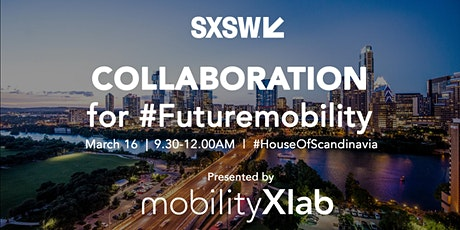 Collaboration for #futuremobility tickets