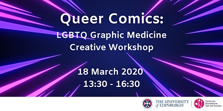 Queer Comics: LGBTQ Graphic Medicine Creative Workshop tickets