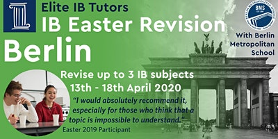 International Baccalaureate Spring Revision Course