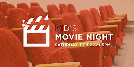 Kid's Movie Night tickets