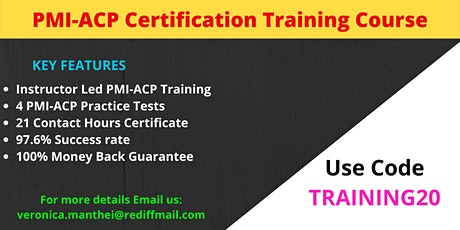 PMI-ACP Training Course in Little Rock, AR tickets