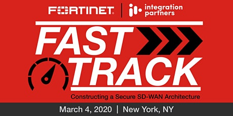 Fortinet Fast Track: Secure SD-WAN | New York, NY tickets