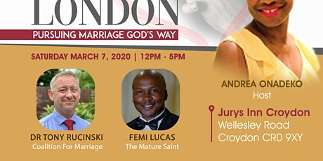 Praying For Marriages London  tickets