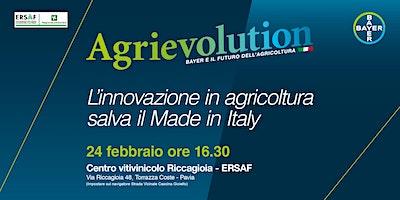 Agrievolution: l'innovazione in agricoltura salva il Made in Italy