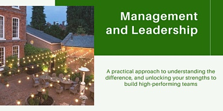 Management and Leadership: a practical approach tickets