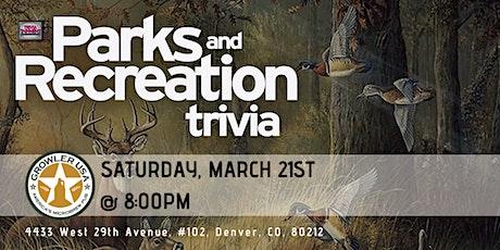 Parks & Rec Trivia at Growler USA Highlands Pub tickets