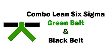 Combo Lean Six Sigma Green Belt and Black Belt Training in Toronto tickets