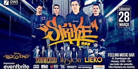 Banda Strike em São Paulo | After Party com DJ set do Bloco Emo ingressos