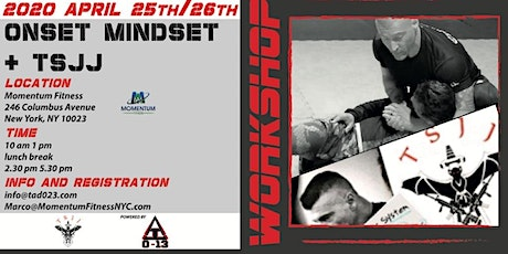 ONSET MINDSET & TSJJ  tickets