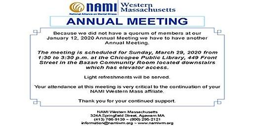 NAMI Western Massachusetts Annual Meeting 2020