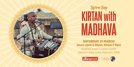 Kirtan With Madhava at Serene Earth Sanctuary tickets