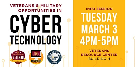 Veterans & Military: Opportunities in Cyber Technology