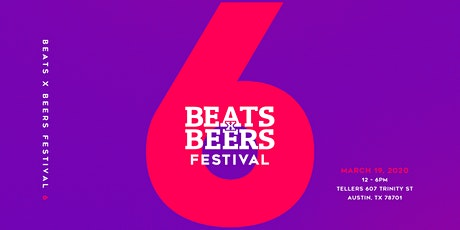 Beats x Beers Festival 6 tickets