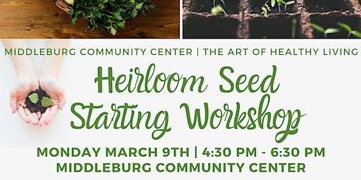 Heirloom Seed Starting Workshop - Evening Class